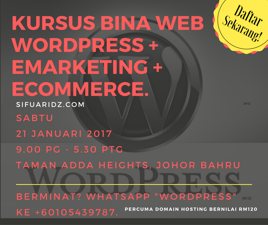 kursus-wordpress-bisnes-online-internet-marketing